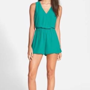 ASTR The Label Turquoise Romper